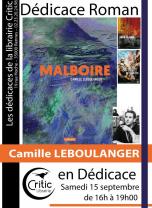 Dédicace roman : Camille Leboulanger