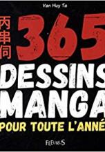 365 dessins manga pour toute l'année